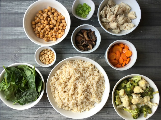 Easy Weeknight Dinner: Buddha Bowls