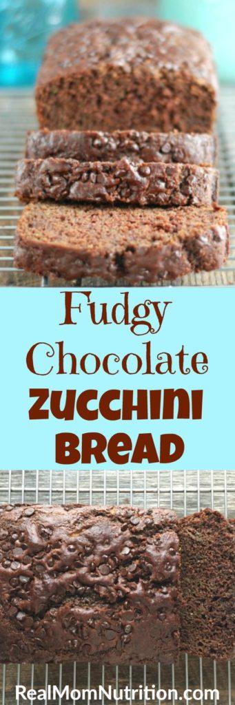 Fudgy Chocolate Zucchini Bread