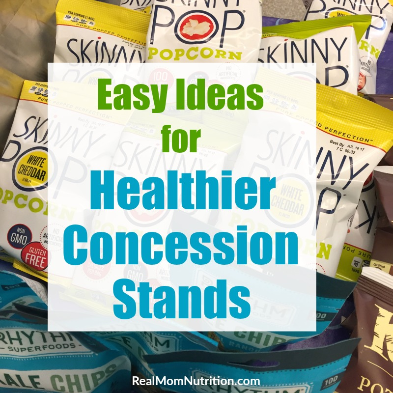 Ideas for Healthy Concession Stands