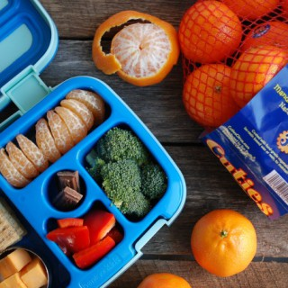 How To Pack Kiwi & Mandarins in Lunch Boxes