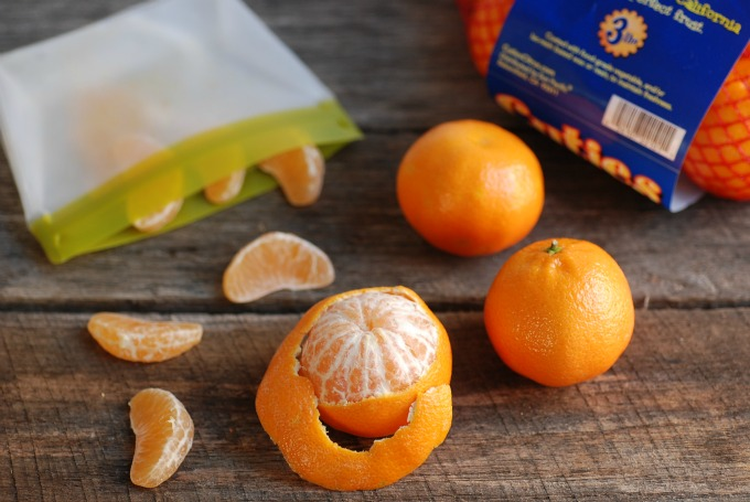 How To Pack Clementines & Kiwi in Lunch Boxes