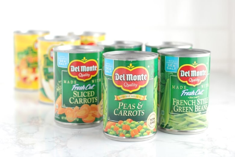 Del Monte canned food