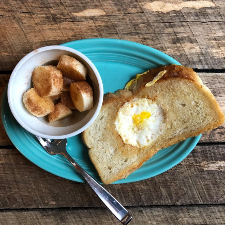Egg in a Hole: Lunch Ideas for Teens
