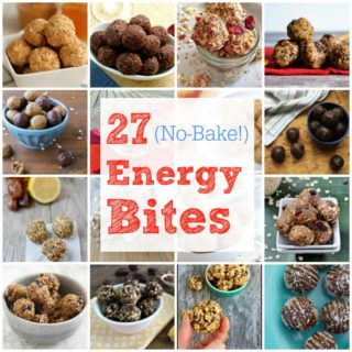 27 No Bake Energy Bites
