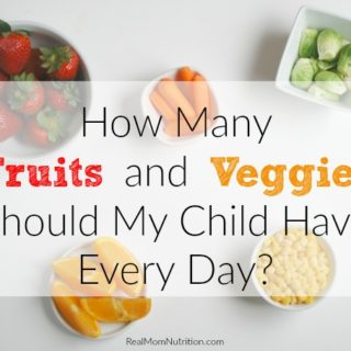 Here's How Many Fruits and Vegetables Kids Need Every Day