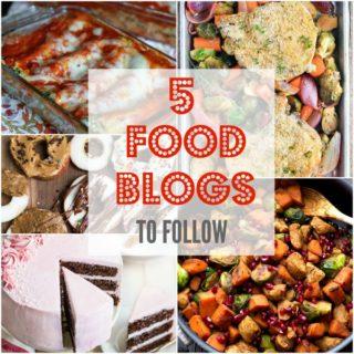 5 Food Blogs to Follow