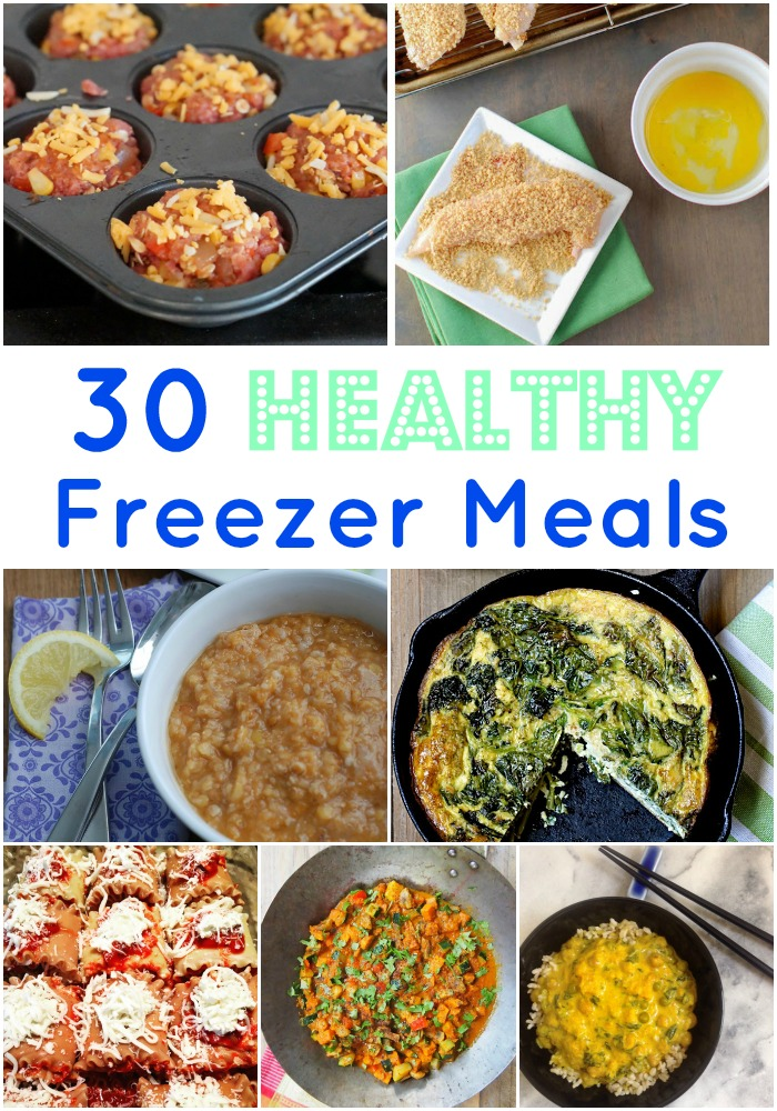 healthy freezer meals 30 healthy freezer meals real nutrition 12466