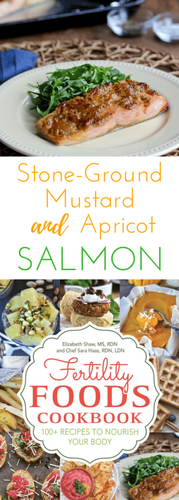 Stone-Ground Mustard & Apricot Salmon