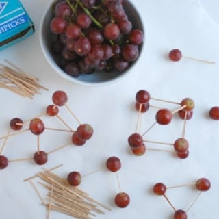 Healthy Class Party Idea: Grape Sculptures!