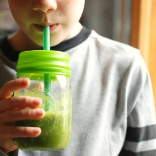 """Starter"" Green Smoothie For Kids"