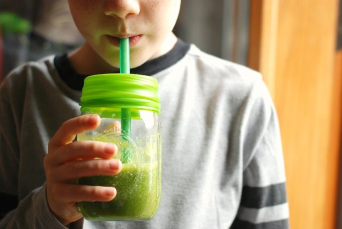 Healthy Green Smoothie For Kids