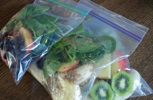 Green Smoothie Packets