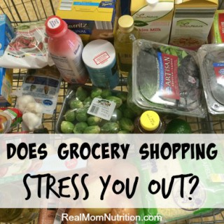 How I Stopped Stressing Out About Grocery Shopping