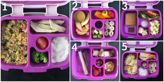 Preschool and toddler packed lunch ideas