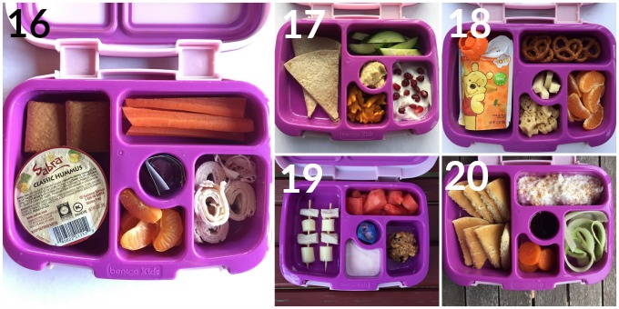 20 Healthy Lunchbox Ideas For Toddlers and Preschoolers