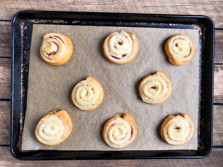 How to Make Ham and Cheese Pinwheels