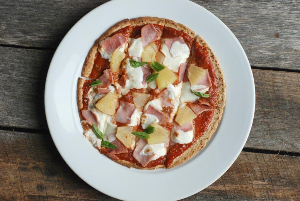 Hawaiian Pizza Flatbread