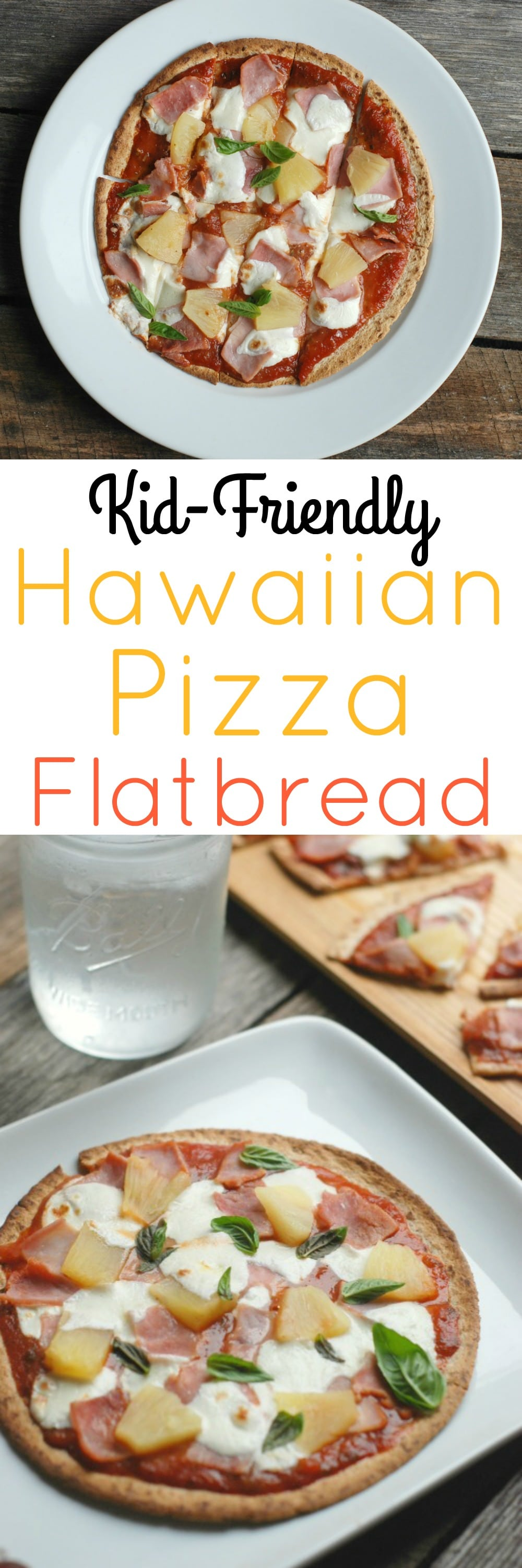 Hawaiian Pizza Flatbread