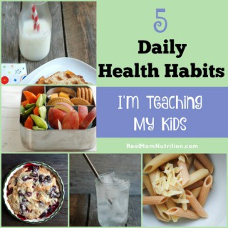 5 Daily Health Habits I'm Teaching My Kids