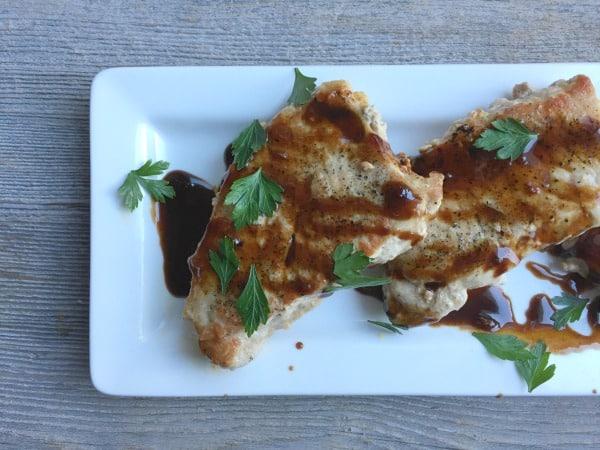 Honey & Soy Glazed Pork Chops