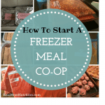 How to Start a Freezer Meal Co-Op -- Real Mom Nutrition