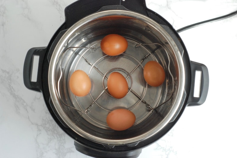 Making eggs in Instant Pot