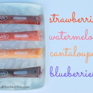 2-Ingredient Homemade Fruit Popsicles