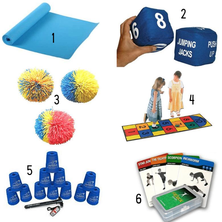 Supplies for Indoor Recess