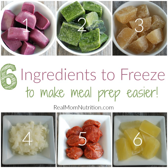 Ingredients To Freeze