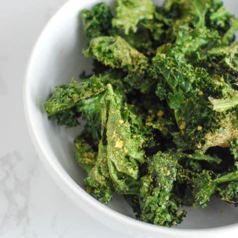 Crispy Nacho Kale Chips