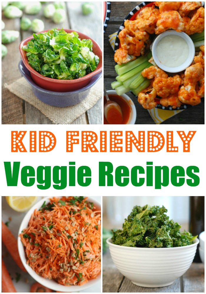 4 Recipes for Kid Friendly Veggies