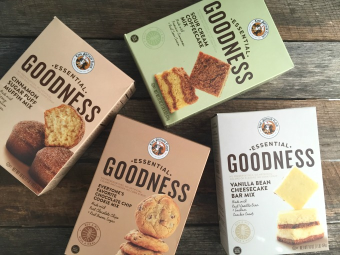 King Arthur Flour Essential Goodness Baking Mixes