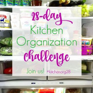 Join Our Get Your Kitchen Organized Challenge