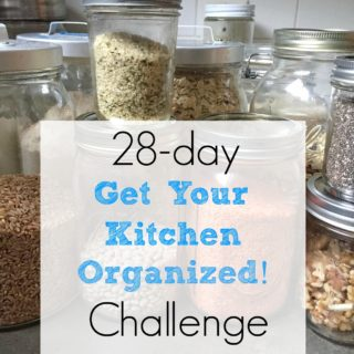 "Join Our 28-Day ""Get Your Kitchen Organized!"" Challenge"