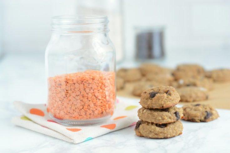 Red Lentil Cookies