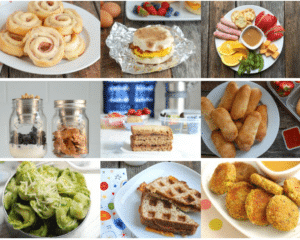 40 Easy Lunch Ideas For Kids At Home