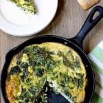 Make-Ahead Kale and Feta Frittata