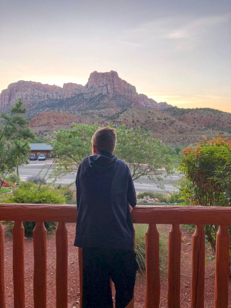 Majestic View Lodge in Zion
