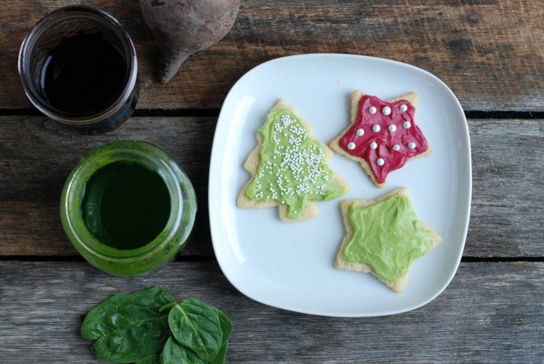 No Fake Food Dyes! How to Make Naturally Colored Frosting.
