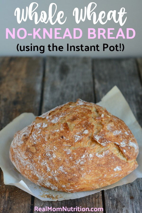 Whole Grain No Knead Bread Time Saving Instant Pot Hack