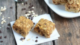 Chocolate Chip Oat Bars (Nut-Free!)