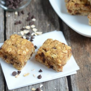 Nut-Free Chocolate Chip Oat Bars