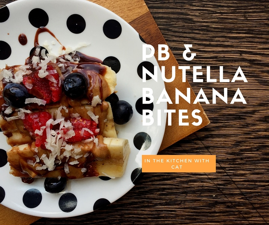 PB & Nutella Banana Bites
