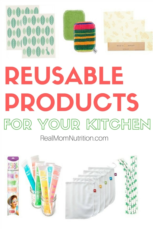 Stop throwing stuff away get these reusable products for for My perfect kitchen products