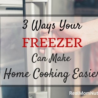 How your freezer can make home cooking easier