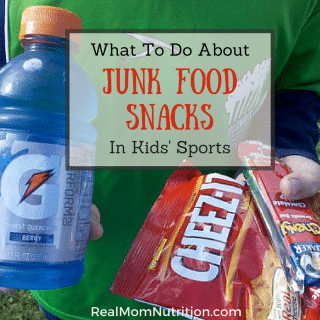 What To Do About Junk Food On the Sidelines of Kids Sports -- Real Mom Nutrition