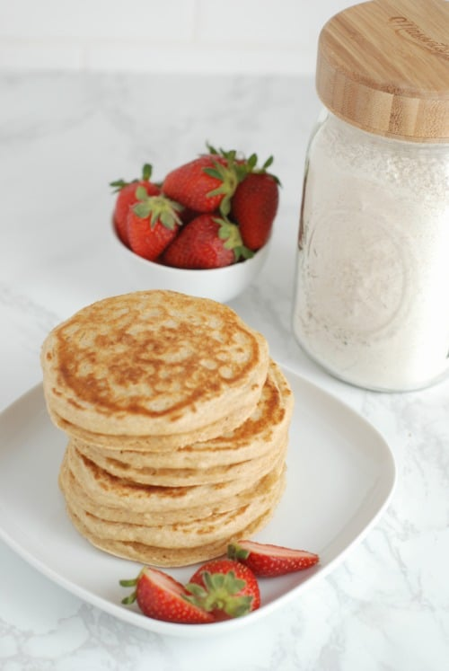 Make Your Own Whole Grain Instant Pancake Mix