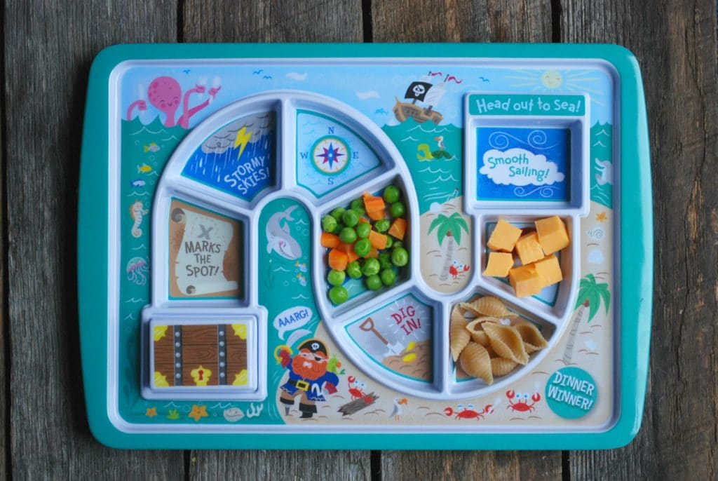 A plate for picky eaters!
