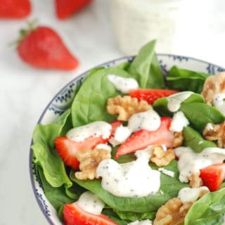 Greek Yogurt Poppyseed Dressing