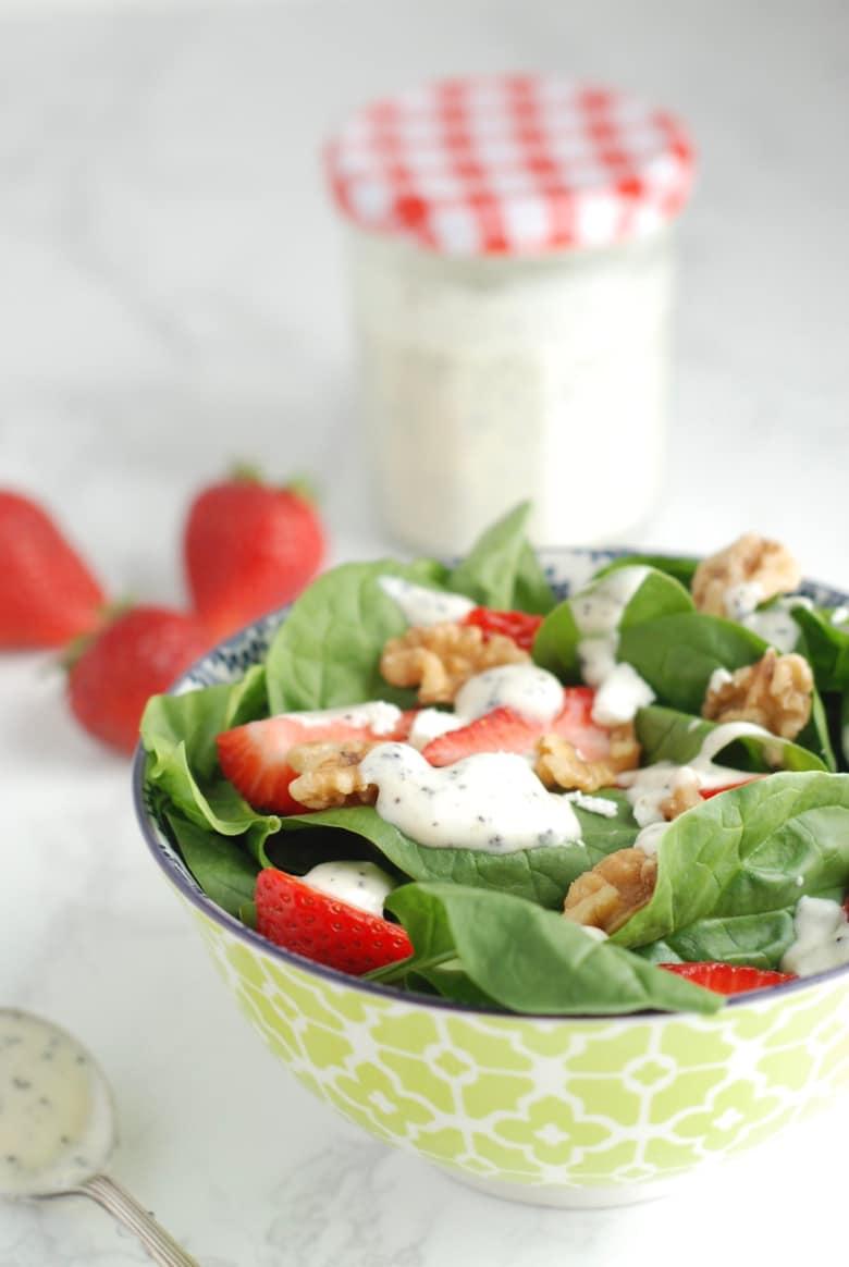 Greek Yogurt Poppyseed Dressing